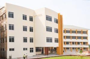 College buildings in KNUST