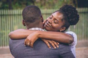 people hugging, love