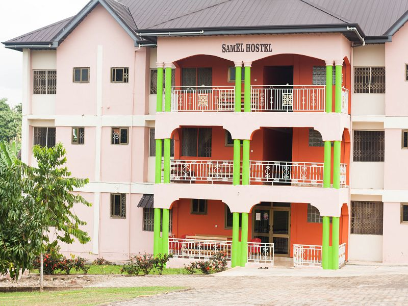 samel hostel sunyani