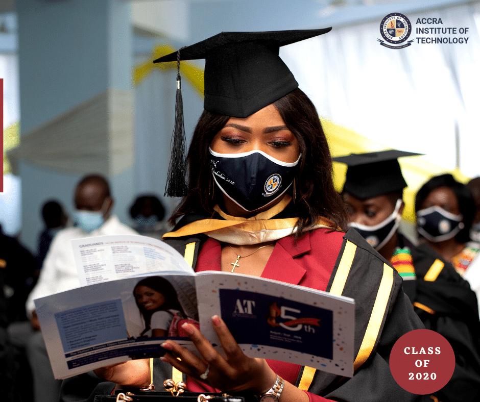 graduation at Accra institute of technology
