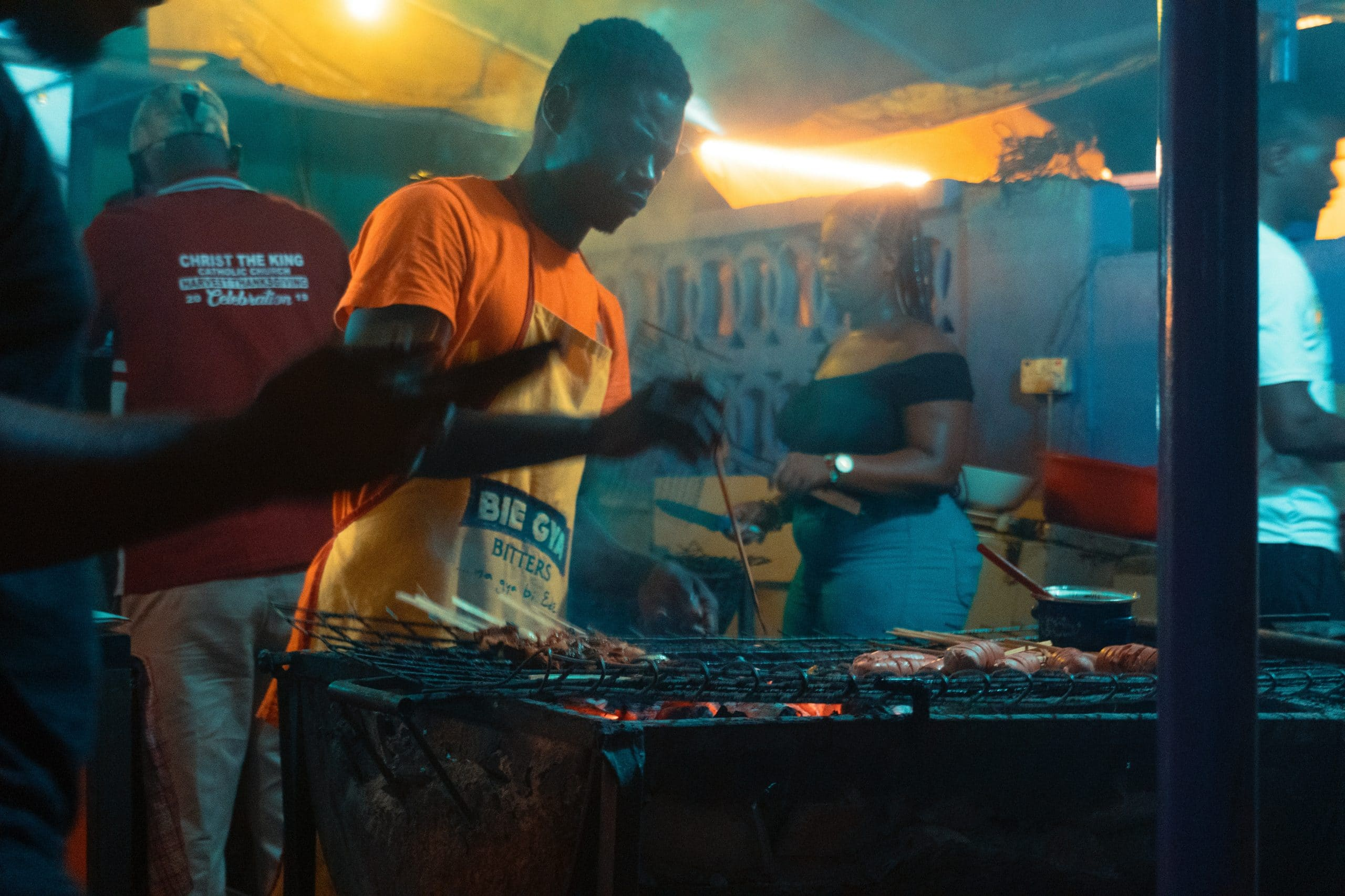 barbecue stand, accra institute of technology